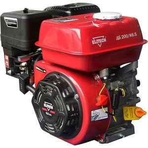 цена на Двигатель бензиновый Elitech ДБ200/К6.5