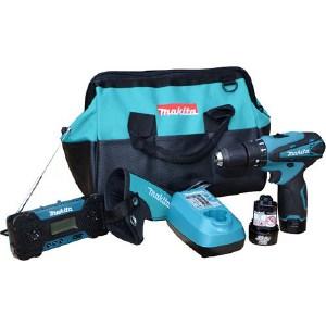 Набор аккумуляторных инструментов Makita DK1200