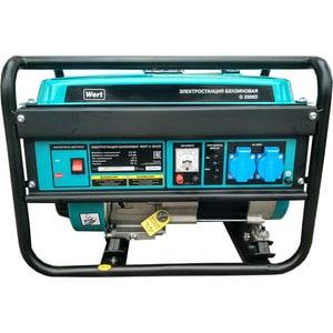 Генератор бензиновый Wert G 3500D генератор бензиновый wert g 3000d