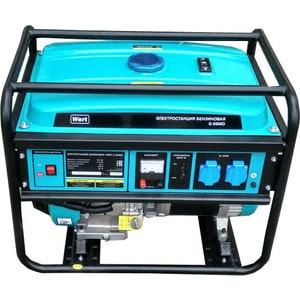 Генератор бензиновый Wert G 6500D генератор бензиновый wert g 3000d