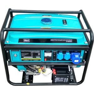 Генератор бензиновый Wert G 8000ED генератор бензиновый wert g 3000d