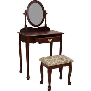 Столик туалетный с банкеткой Мебельторг 1696 сервировочный столик мебельторг a1912