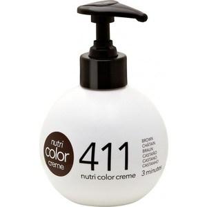 Краска Revlon Professional Nutri Color Creme 411 коричневый 250 мл revlon professional nutri color creme