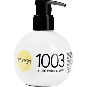 Краска Revlon Professional Nutri Color Creme 1003 очень светлый золотистый 250 мл краска revlon professional nutri color creme 513 глубокий ореховый 100 мл