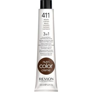 Краска Revlon Professional Nutri Color Creme 411 коричневый 100 мл revlon professional nutri color creme