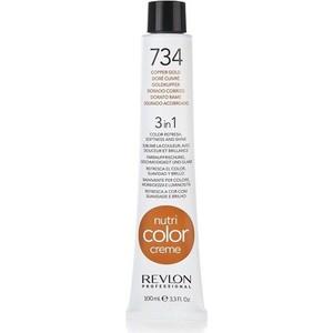 Краска Revlon Professional Nutri Color Creme 734 медно-золотистый 100 мл