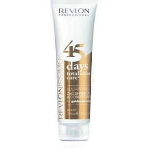 Revlon Professional Shampoo&Conditioner Golden Blondes Шампунь-кондиционер для золотистых блондированных оттенков 275 мл