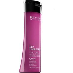 Revlon Professional Be Fabulous Daily Care Normal Hair Thick Shampoo Ежедневный уход для нормальных густых волос очищающий шампунь 250 мл шампунь keen daily care shampoo