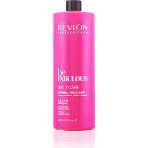 Revlon Professional Be Fabulous Daily Care Normal Hair Thick Shampoo Ежедневный уход для нормальных и густых волос очищающий шампунь 1000 мл шампунь keen daily care shampoo