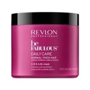 Revlon Professional Be Fabulous Daily Care Normal Hair Thick Mask Ежедневный маска уход для нормальных и густых волос 500 мл