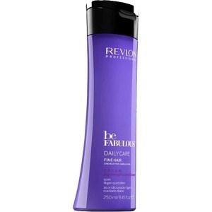 Revlon Professional Be Fabulous Daily Care Fine Hair Lightweight Shampoo Ежедневный уход для тонких волос очищающий шампунь 250 мл шампунь keen daily care shampoo