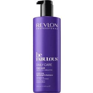 Revlon Professional Be Fabulous Daily Care Fine Hair Lightweight Shampoo Ежедневный уход для тонких волос очищающий шампунь 1000 мл