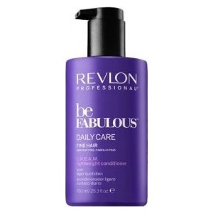 Revlon Professional Be Fabulous Daily Care Fine Hair Lightweight Conditioner Ежедневный уход для тонких волос кондиционер 750 мл сыворотки revlon professional восстанавливающая сыворотка для кончиков волос rp be fabulous 80 мл