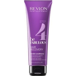 Revlon Professional Be Fabulous Hair Recovery Keratin Conditioner Восстановление волос. Шаг 4. Кондиционер с кератином RP BE FABULOUS 250 мл c ehko keratin silver conditioner