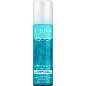 Revlon Professional Equave Instant Beauty Hydro Nutritive Detangling Несмываемый 2-х фазный увлажняющий и питательный кондиционер 200 мл пилинг 2 х фазный 2х50 мл steblanc пилинг 2 х фазный 2х50 мл