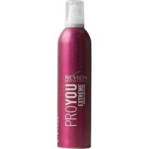 Revlon Professional Pro You Extreme Мусс для волос сильной фиксации 400 мл kapous professional мусс для укладки волос нормальной фиксации 400 мл