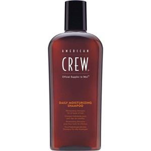 AMERICAN CREW Daily Moisturizing Shampoo Шампунь для ежедневного ухода за нормальными и сухими волосами 250 мл american crew шампунь для седых и седеющих волос classic gray shampoo 250 мл