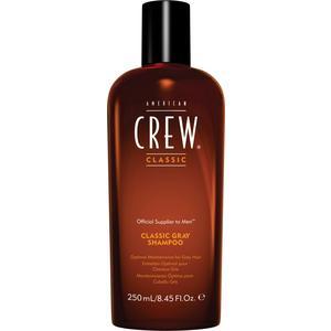 AMERICAN CREW Classic Gray Shampoo Шампунь для седых и седеющих волос 250 мл american crew шампунь для седых и седеющих волос classic gray shampoo 250 мл