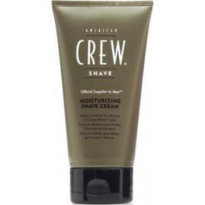 AMERICAN CREW Moisturizing Shave Cream Крем для бритья на основе трав с эффектом холода для нормальной и жесткого типов волос 150 мл