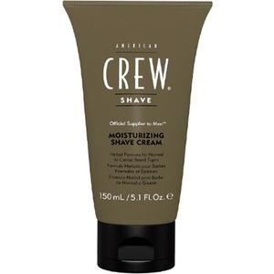 AMERICAN CREW Moisturizing Shave Cream Увлажняющий крем для бритья 150 мл american crew масло для бритья ultra gliding shave oil 50 мл