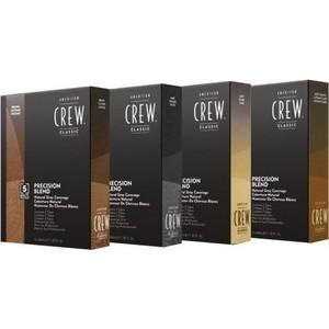 Фотография товара краска AMERICAN CREW Камуфляж для седых волос Темный натур. 2/3, 3*40 мл. (703429)