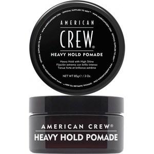 AMERICAN CREW Heavy Hold Pomade Помада сильной фиксации 85 г american crew помада сильной фиксации crew heavy hold pomade 85 г