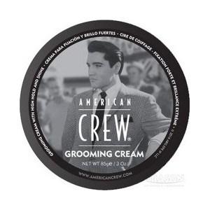 Фотография товара aMERICAN CREW King Grooming Cream Крем с сильной фиксацией и высоким уровнем блеска для укладки волос и усов 85 г. (703449)