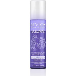 Revlon Professional Equave Instant Несмываемый 2-х фазный кондиционер для блондированных, обесцвеченных, седых волос против желтизны 200 мл