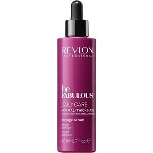 Revlon Professional Be Fabulous Антивозрастная сыворотка для ежедневного ухода для нормальных густых волос 80 мл