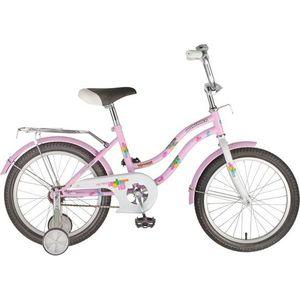Велосипед NOVATRACK 18 TETRIS розовый 117122 детский велосипед novatrack tetris 60776 кх