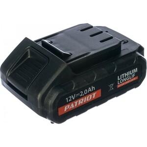 Аккумулятор PATRIOT для BR 101/111Li серии The One 12V (180201100) аккумулятор patriot для шуруповерта mb 627 ni 12v 2 0 ah