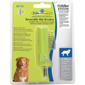 Колтунорез-насадка FURminator FURflex Reversible Mat Breaker All Dogs with Any Coat Type or Length для собак с любой длиной шерсти 400 amp 3 pole cm1 type moulded case type circuit breaker mccb