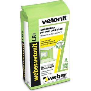 Шпатлевка WEBER.VETONIT LR+ финишная полимерная 5кг.