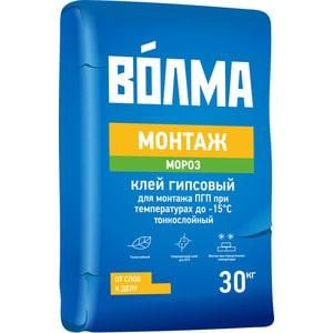 Клей монтажный ВОЛМА МОНТАЖ морозостойкий 30кг. клей монтажный волма монтаж 30кг