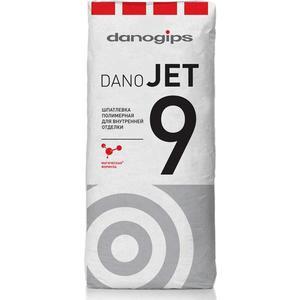 Шпатлевка Danogips DANO JET 9 финишная полимерная 20кг.