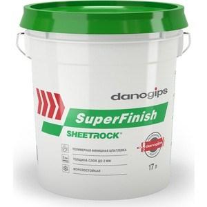 Шпатлевка Danogips готовая ШИТРОК СуперФиниш 28кг. (17л)