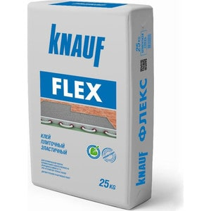 Клей для плитки KNAUF ФЛЕКС эластичный 25кг.  гкл knauf 2500х1200х12 5мм