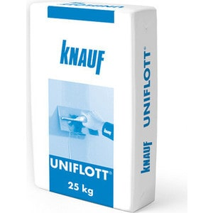 Шпатлевка KNAUF УНИФЛОТ гипсовая высокопрочн. 25 кг.