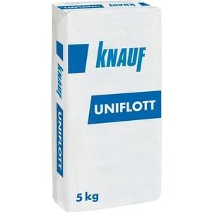 Шпатлевка KNAUF УНИФЛОТ гипсовая высокопрочн. 5 кг.