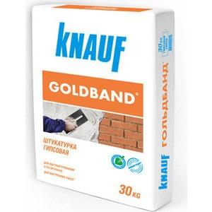 Штукатурка KNAUF ГОЛЬДБАНД гипсовая 30 кг. гипсовая теплоизоляционная штукатурка теплон белый unis 15кг