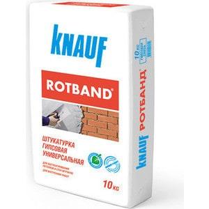 Штукатурка KNAUF РОТБАНД гипсовая белая 10кг.  цена и фото