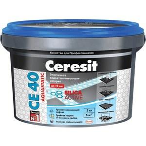 Затирка для плитки Ceresit CE 40 №16 графит 2кг.