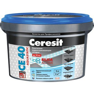 Затирка для плитки Ceresit CE 40 №40 жасмин 2кг.