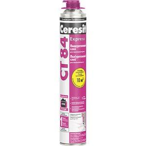 Фотография товара клей для теплоизоляции Ceresit СТ84 полиуретановый 850мл. (704860)