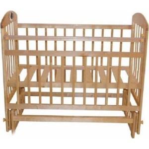 Кроватка Briciola Briciola-14 маятник поперечный, без ящика, светлая (BR1405) обычная кроватка уренская мебельная фабрика мишутка 14 светлая ящик