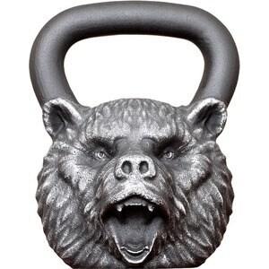 Гиря Iron Head Медведь 24,0 кг bf гамак одноместный 331