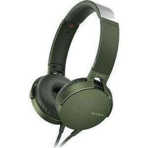 Наушники Sony MDR-XB550AP green наушники sony mdr xb550ap накладные черный проводные