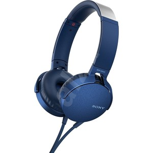 Наушники Sony MDR-XB550AP blue наушники sony mdr xb550ap black