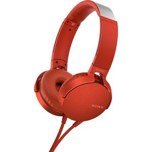 Наушники Sony MDR-XB550AP red sony mdr zx310ap red