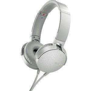 Наушники Sony MDR-XB550AP white наушники sony mdr xb550ap накладные черный проводные